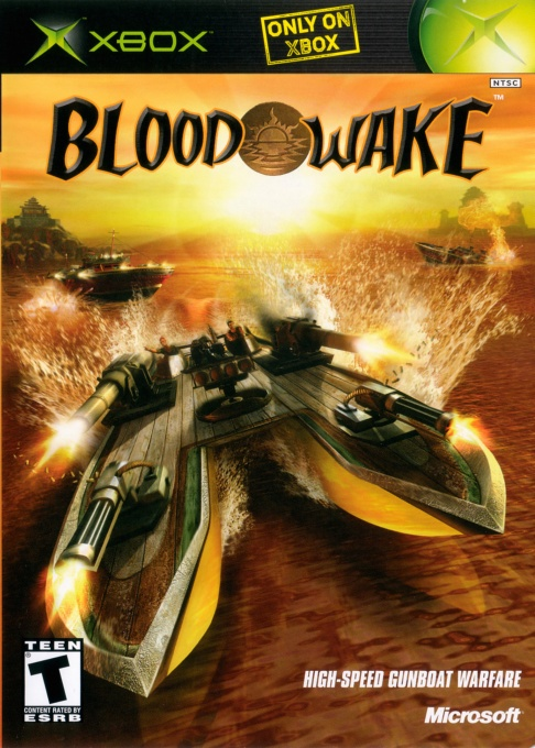 Front boxart of the game Blood Wake (United States) on Microsoft Xbox