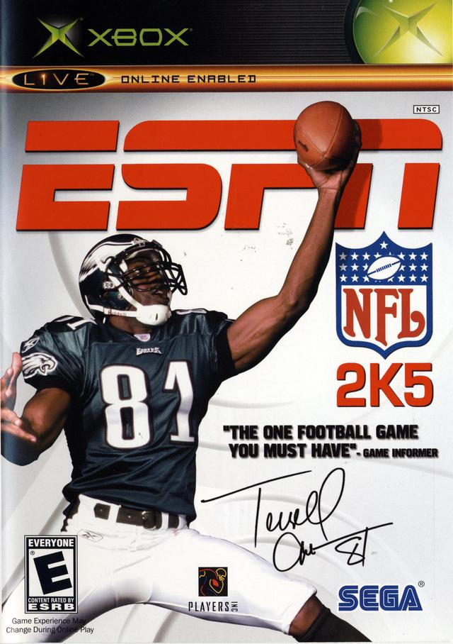 ESPN NFL 2K5 videos for Microsoft Xbox - The Video Games Museum
