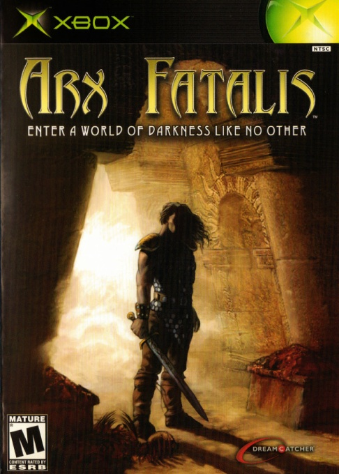 Front boxart of the game Arx Fatalis (United States) on Microsoft Xbox