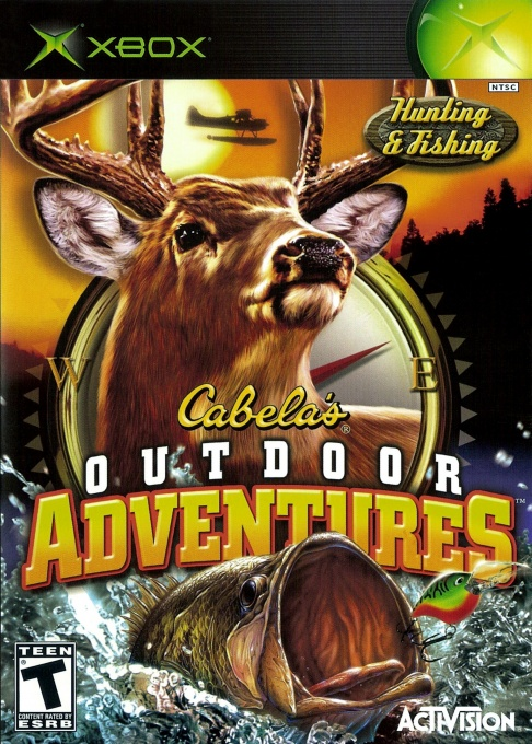 Front boxart of the game Cabela's Outdoor Adventures (United States) on Microsoft Xbox