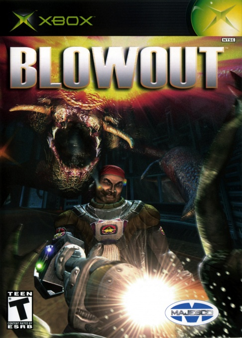 Front boxart of the game BlowOut (United States) on Microsoft Xbox