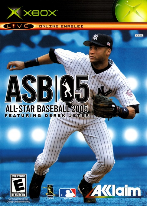 Front boxart of the game All-Star Baseball 2005 (United States) on Microsoft Xbox