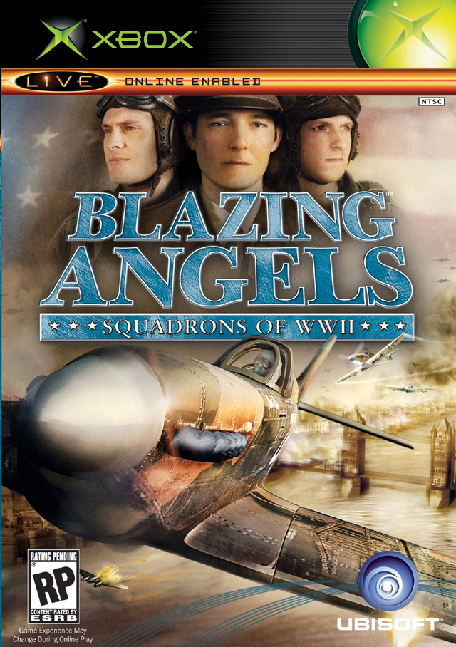 Front boxart of the game Blazing Angels - Squadrons of WWII (United States) on Microsoft Xbox