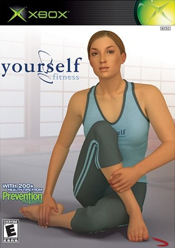 Front boxart of the game Yourself!Fitness (United States) on Microsoft Xbox