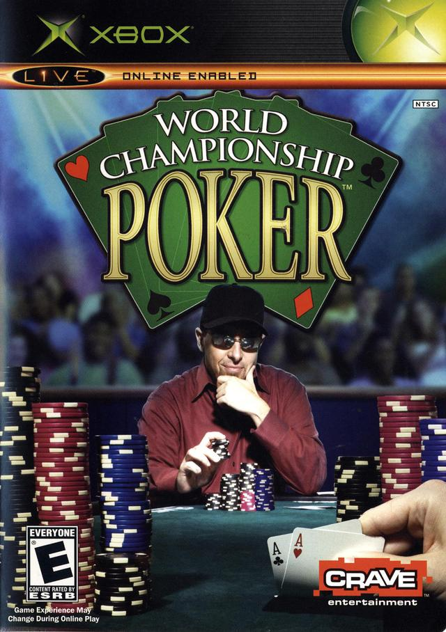 Front boxart of the game World Championship Poker (United States) on Microsoft Xbox