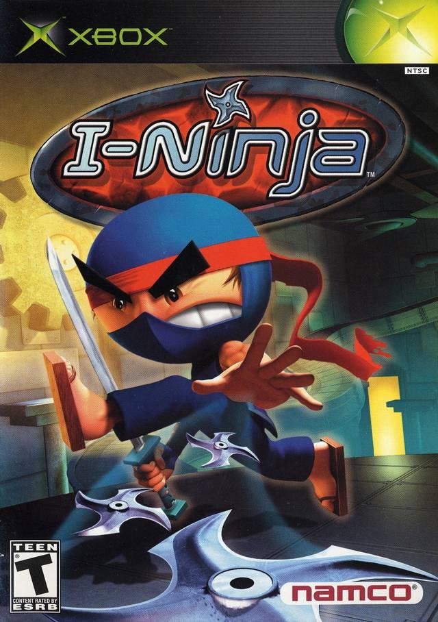 Front boxart of the game I-Ninja (United States) on Microsoft Xbox