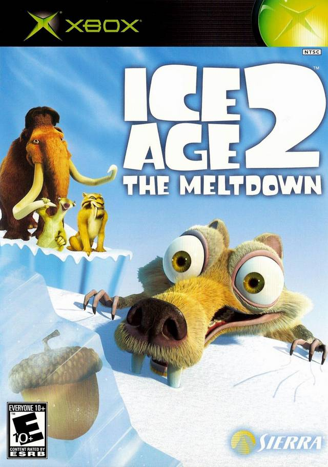 Front boxart of the game Ice Age 2 - The Meltdown (United States) on Microsoft Xbox