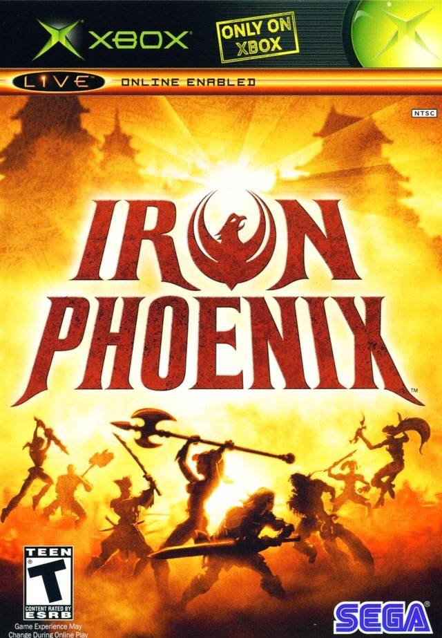 Front boxart of the game Iron Phoenix (United States) on Microsoft Xbox