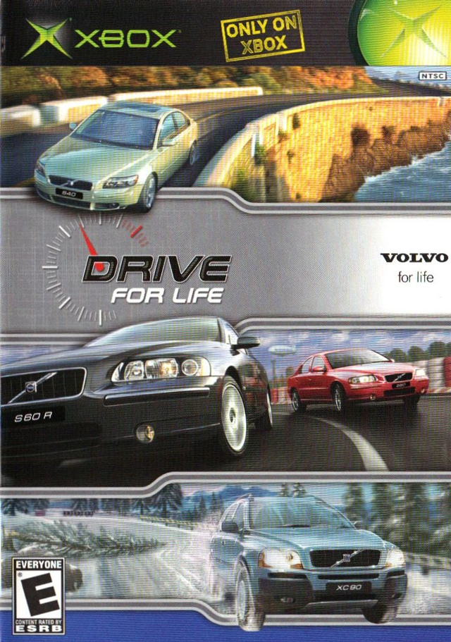 Front boxart of the game Volvo - Drive for Life (United States) on Microsoft Xbox