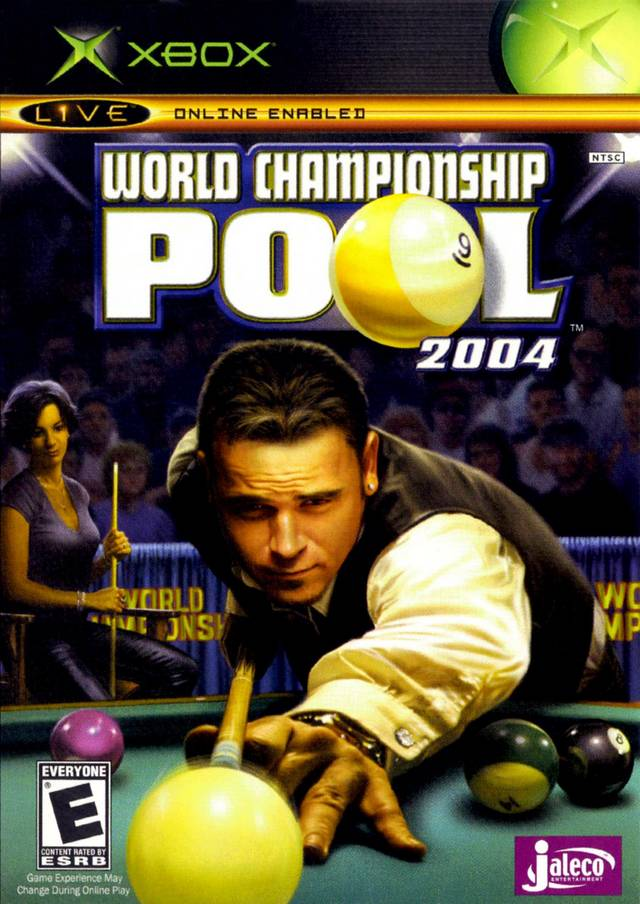 Front boxart of the game World Championship Pool 2004 (United States) on Microsoft Xbox