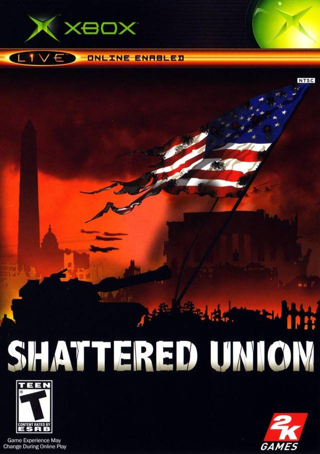 Front boxart of the game Shattered Union (United States) on Microsoft Xbox