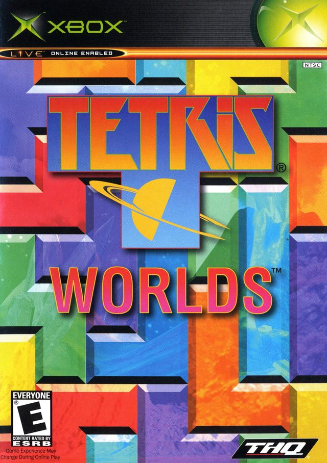 Front boxart of the game Tetris Worlds (United States) on Microsoft Xbox
