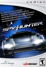 Front boxart of the game Spy Hunter on Tapwave Zodiac