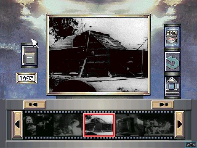 Menu screen of the game 20th Century Video Almanac on 3DO