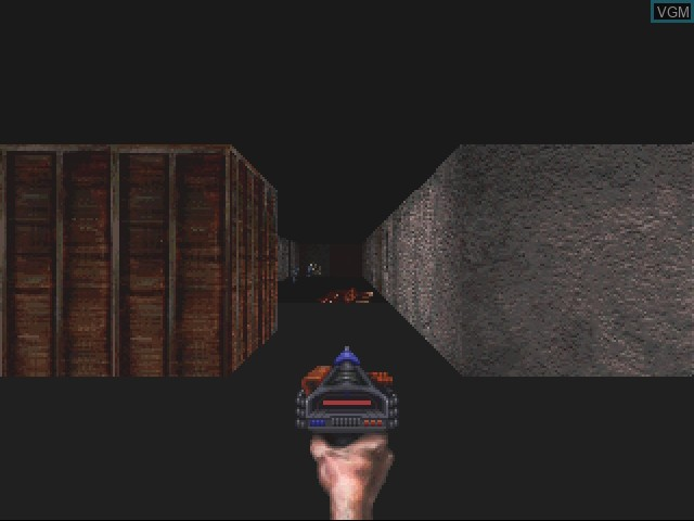 In-game screen of the game Escape from Monster Manor - A Terrifying Hunt for the Undead on 3DO