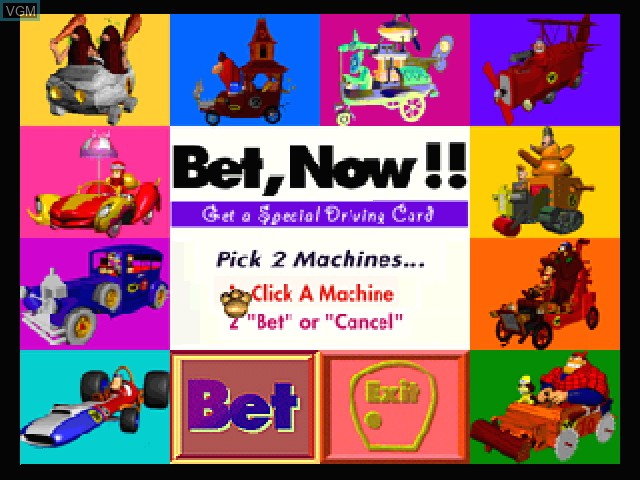 Chiki Chiki Machine Mou-Race