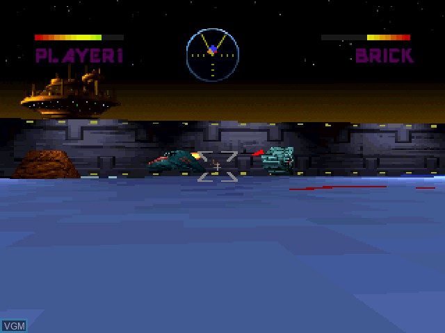 In-game screen of the game BattleSport on 3DO