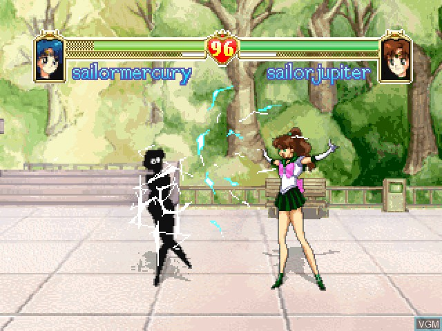 In-game screen of the game Bishoujo Senshi Sailor Moon S on 3DO