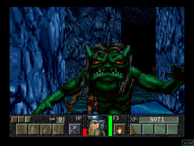 In-game screen of the game DeathKeep on 3DO