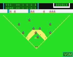 In-game screen of the game Baseball on APF Electronics Inc. APF-MP1000