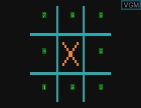 In-game screen of the game Hangman & Tic Tac Toe & Doddle on APF Electronics Inc. APF-MP1000