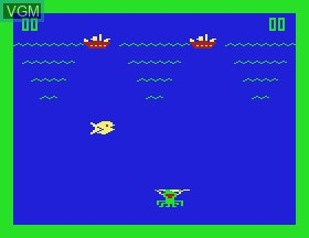 In-game screen of the game UFO & Sea Monster & Break It Down & Rebuild & Shoot on APF Electronics Inc. APF-MP1000