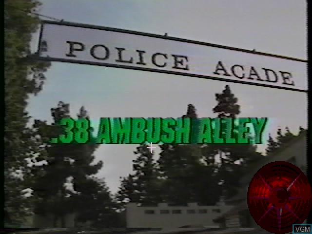 Title screen of the game 38 Ambush Alley on Worlds of Wonder Action Max