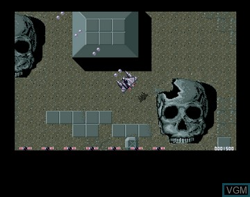 In-game screen of the game Battle Storm on Amiga CD32