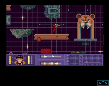 In-game screen of the game Akira on Amiga CD32