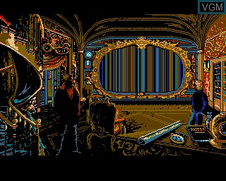 In-game screen of the game 20000 Leagues Under the Sea on Commodore Amiga
