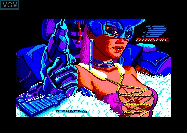 Title screen of the game Game Over on Amstrad CPC