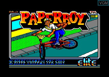 Paperboy for Amstrad CPC - The Video Games Museum