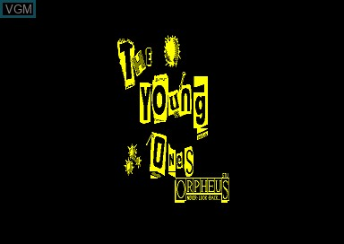 Title screen of the game Young Ones, The on Amstrad CPC
