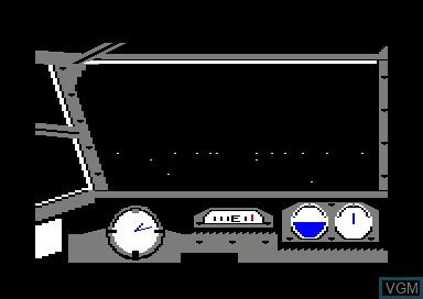 In-game screen of the game Dam Busters, The on Amstrad CPC