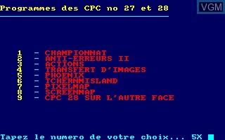 Disque CPC No 12 - Programmes des CPC No 23 et 24