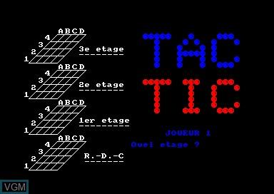 O Tac-Tic