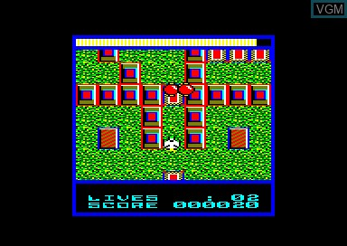 In-game screen of the game Terra Cognita on Amstrad CPC