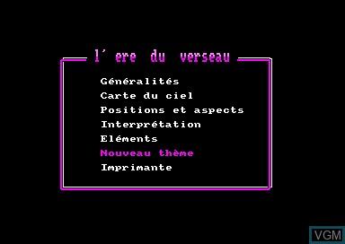 Ere du Verseau, L'