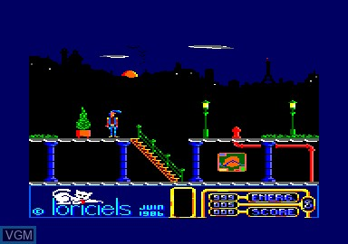In-game screen of the game 1942 & Billy La Banlieue & Bombjack & Green Beret on Amstrad CPC