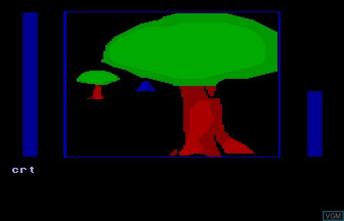 In-game screen of the game Mazer II on Apple II GS
