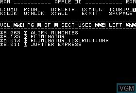 Alien Munchies & Eliminator & Jupiter Express