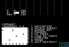 Apple II Trek