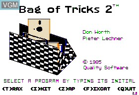 Bag of Tricks II