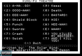 Kung-Fu Theatre
