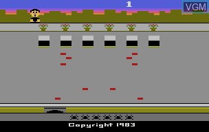 Title screen of the game Crackpots on Atari 2600