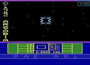 Title screen of the game Phaser Patrol on Atari 2600