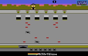 In-game screen of the game Crackpots on Atari 2600