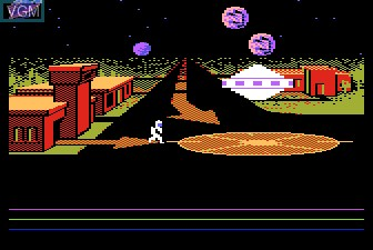 Title screen of the game Astro Chase on Atari 5200