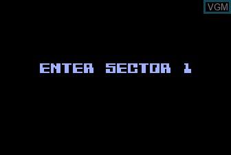Menu screen of the game K-razy Shoot-Out on Atari 5200