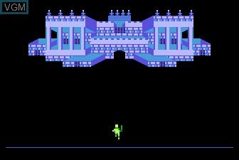 Menu screen of the game Meebzork on Atari 5200